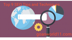 Top 9 SEO Tips and Techniques