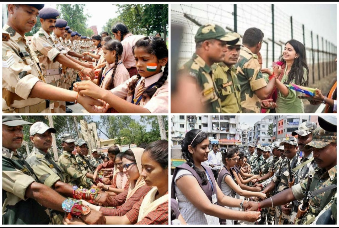 भारतीय सेना के जवानों के साथ रक्षा बंधन, सेना के जवानों के लिए संदेश, रक्षा बंधन की शुभकामनाएं .